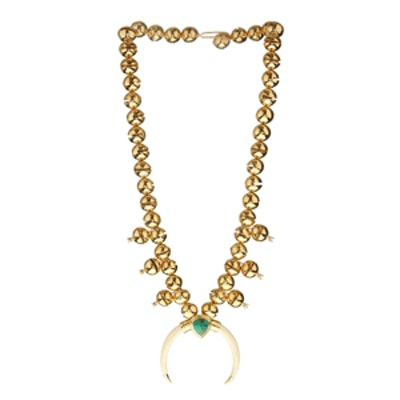 Navajo Bells Gold-Plated Necklace