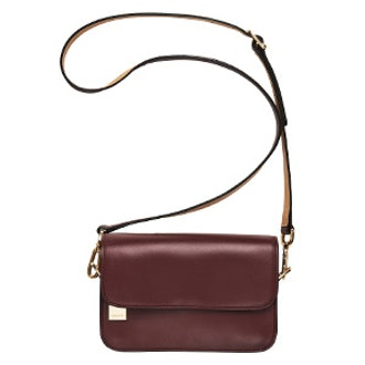 New Haven Leather Crossbody Purse