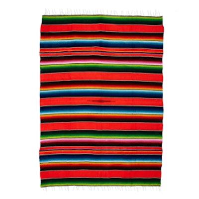 Multi Colored Mexico City Striped Serape