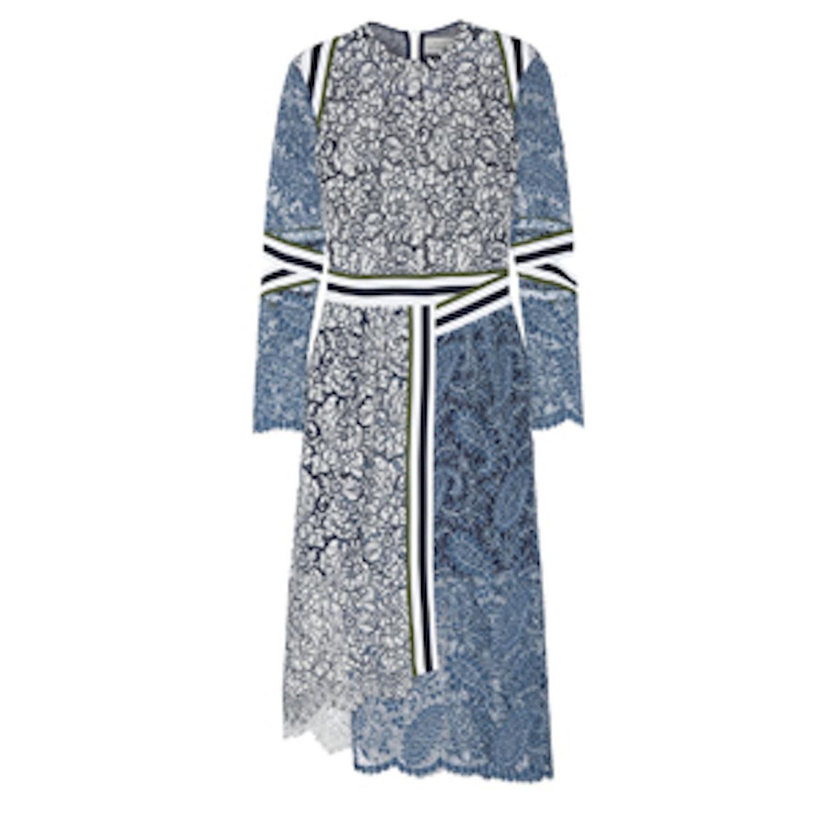 Palairet Wrap Lace Dress