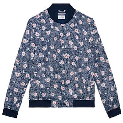 Blooming Bomber Jacket
