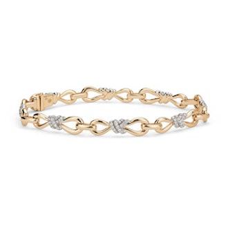 Colin Cowie Diamond Infinity Bracelet