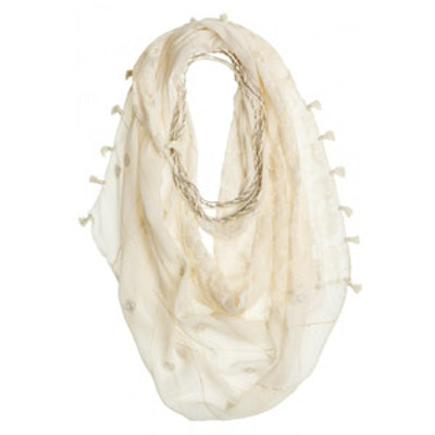 Lace Necklace Scarf