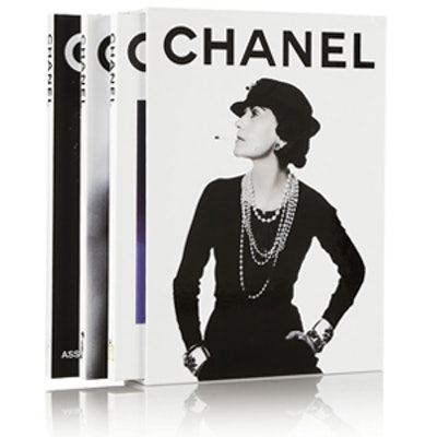 Set of Three Chanel Hardcover Books