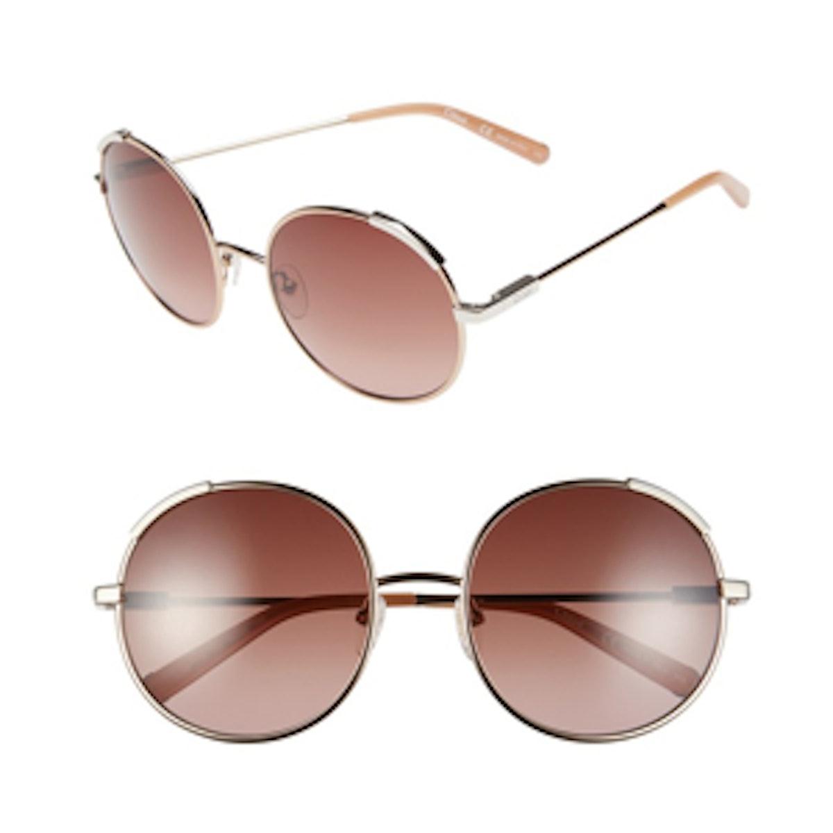Nerine Round Sunglasses