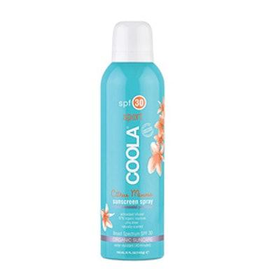 SPF 30 Organic Sunscreen Spray