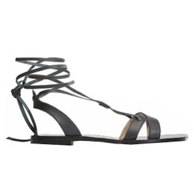 Sappho Sandal in Black