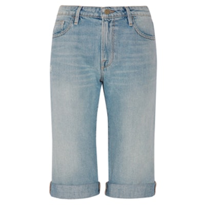 Le Vintage Bermuda Denim Shorts