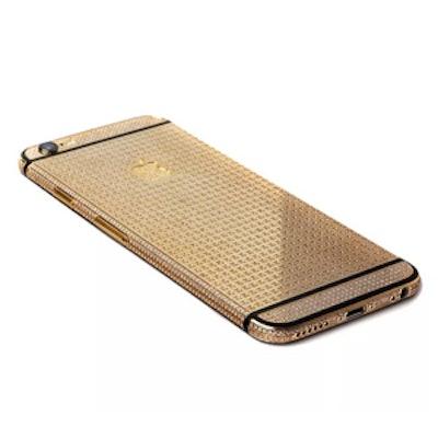 24k Gold & Swarovski Encrusted iPhone 6
