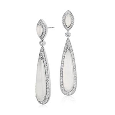 Monique Lhuiller Moonstone Drop Earrings