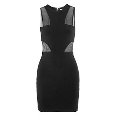 Gwen Mesh-Paneled Mini Dress