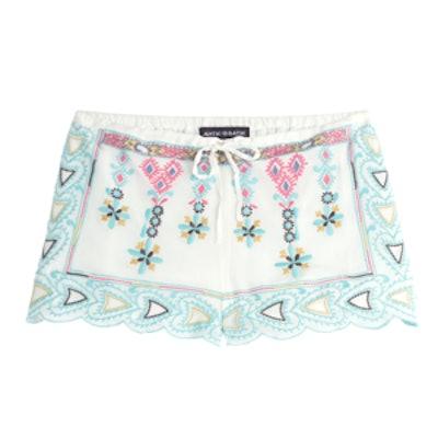 Sanah Embroidered Shorts