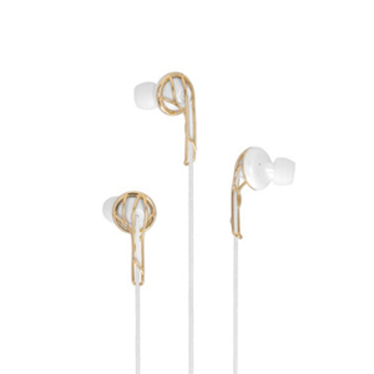 Gold Earbuds