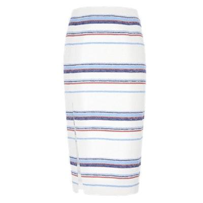 Audrina Stripe Skirt