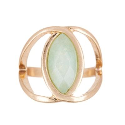 Marquise Geniune Stone Ring
