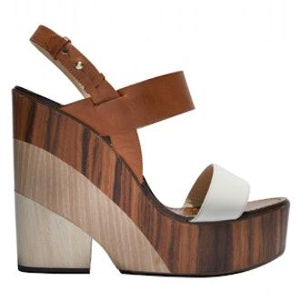 Notion Tricolor Wedge Sandal
