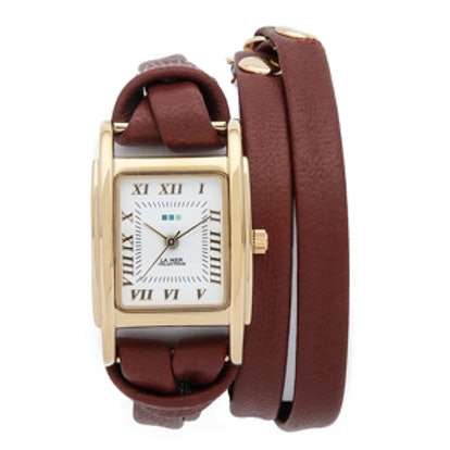 Leather Wrap Watch