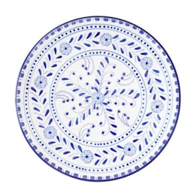 Floral Round Platter