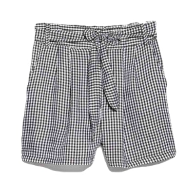 Gingham Check Bermuda Shorts