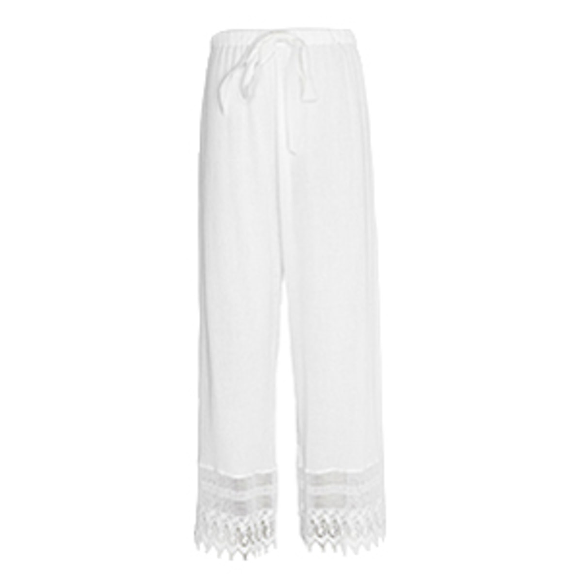 Cotton Gauze Drawstring Pant