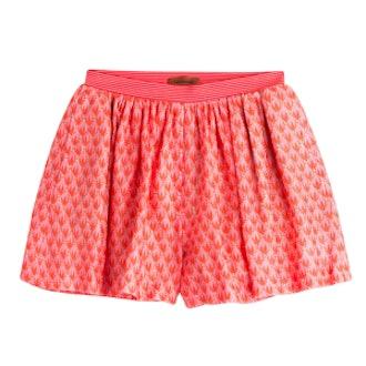 Crocheted Knit Shorts