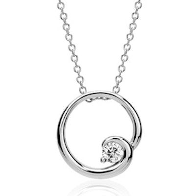 Colin Cowie Diamond Circle Pendant