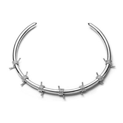 Pavé Barbed Wire Collar