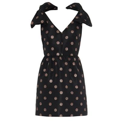 Glitter Polka-Dot Dress