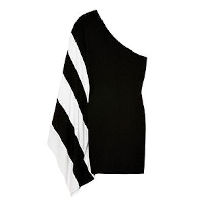 One Shoulder Stripe Dress