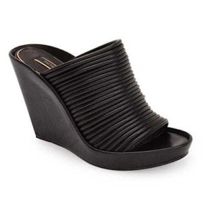 Kyla Leather Wedge Sandal
