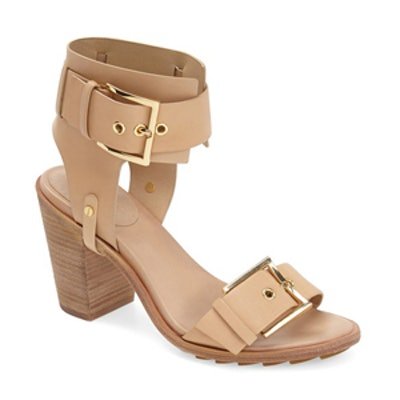 Reeve Ankle Strap Leather Sandal