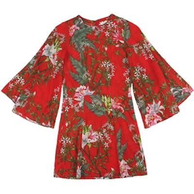 Weston Floral Print Mini Dress