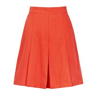 Fillipa Short Culottes in Pomegranate