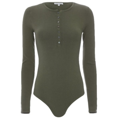 Henley Longsleeve Bodysuit