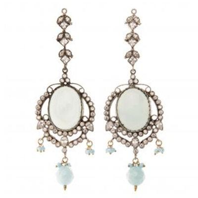 Crystal Indian Earrings