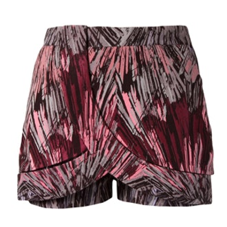 Printed Wrap Shorts