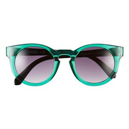 Retro Sunglasses in Green