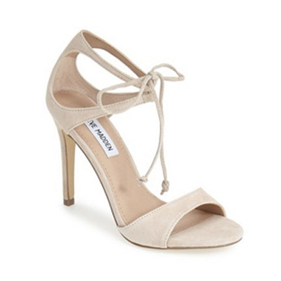 Semona Suede Ankle Strap Sandals