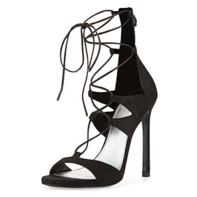 LegWrap Lace-Up Sandal