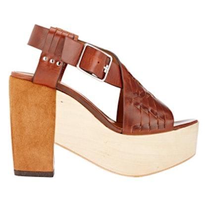 Bassy Crisscross-Strap Sandals