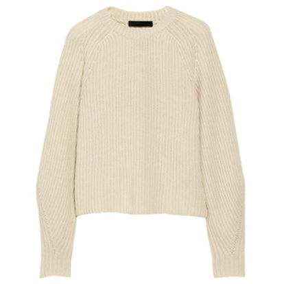 Finn Ribbed Cashmere and Silk Blend Sweater