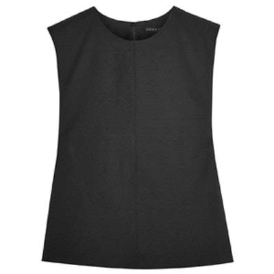 Shell Stretch-Wool Top