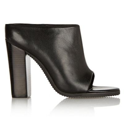 Leona Leather Mules