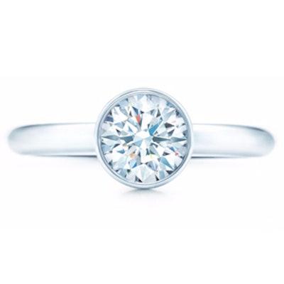 1 Carat Round Cut Diamond & Platinum Ring
