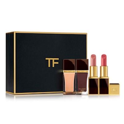 Neutral Lip And Nail Gift Set