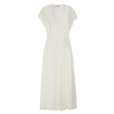 Cumbia Silk-Georgette Maxi Dress