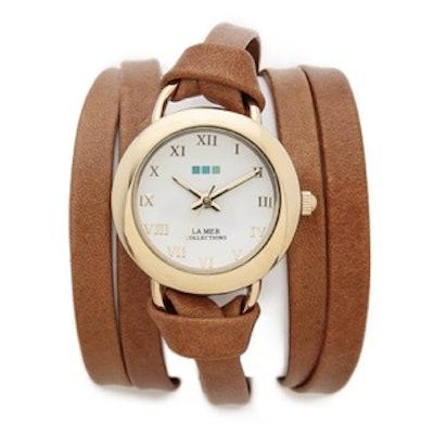 Round Wrap Watch