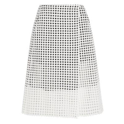 Crocheted Cotton Wrap Skirt