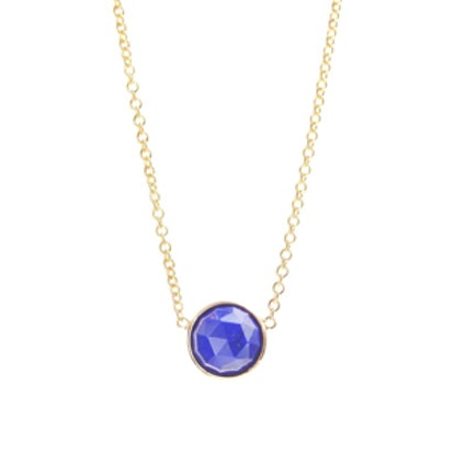 Rose-Cut Stone Necklace