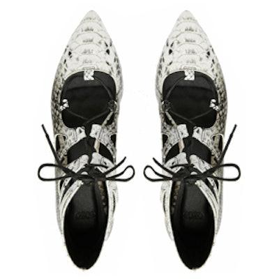 Lana Lace-Up Ballet Flats